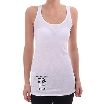 Follie di Garbo Racer Back Vest Top With Print