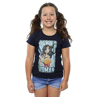 DC Comics Girls Wonder Woman Poster T-Shirt