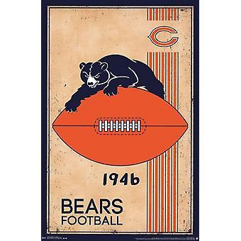 Chicago Bears - Retro Logo 14 Juliste Tulosta