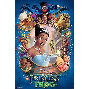 The Princess & The Frog Poster Print