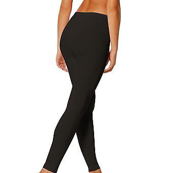 Mey 28965-3 Women's Black Solid Colour Ankle Length Leggings