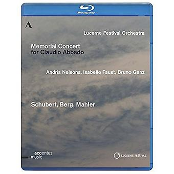Memorial Concert voor Claudio Abbado [BLU-RAY] USA import