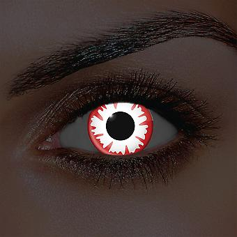 i-Glow White Demon Contact Lenses (Pair)