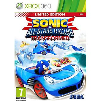 Sonic All Stars Racing Transformed Limited Edition (Xbox 360) - Uusi