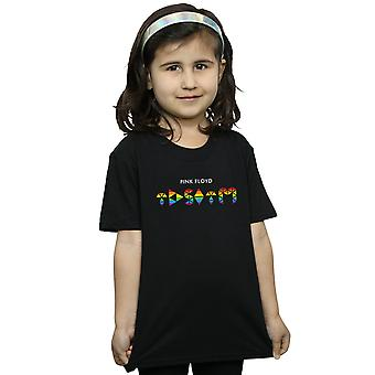 Pink Floyd jenter mørke siden av månen Rainbow t-skjorte