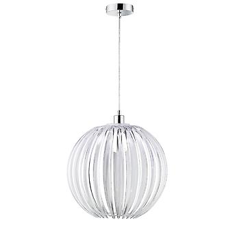 Trio Lighting Zucca Young Living Transparent Clear Acryl Pendant