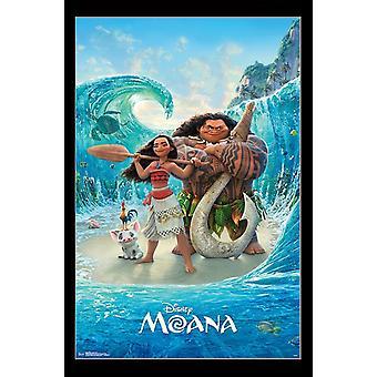 Moana - Ocean Floor Poster Print