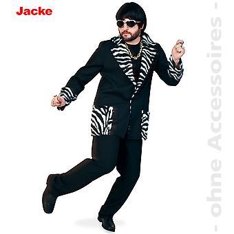 Pimp redneck kostuum mens redneck kostuum jas Zebra mannen kostuum