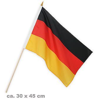 Flagge Fan 30x45cm Deutschland Fußball Party