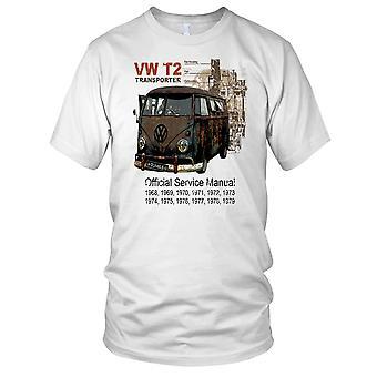 VW T2 Transporter klassiske bobil Mens T skjorte