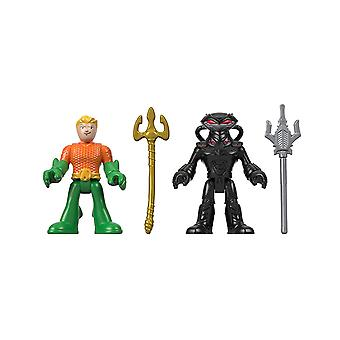 Imaginext - DC Superfriends Justice League Aqua Mann einen schwarzen Manta