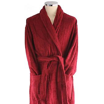 Bown of London Terry Egyptian Cotton Dressing Gown - Wine