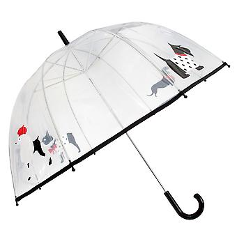 Drizzles Adults Unisex Dome Dog Umbrella