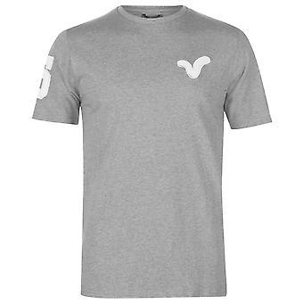 VOI Mens Jax T Shirt Crew Neck Tee Top Short Sleeve Cotton Regular Fit