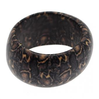 Barbara Easton Women's Chunky Animal Print Bangle