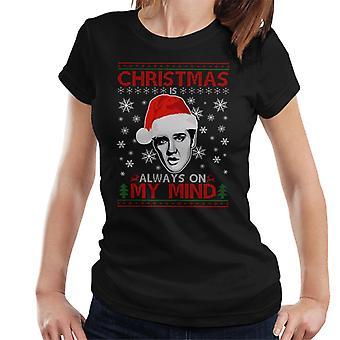 Elvis Presley-joulun on aina mielessä t-paidat