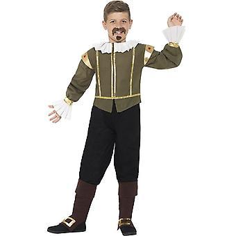 Shakespeare Costume, Large Age 10-12