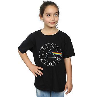 Pink Floyd tytöt Prisma ympyrän Logo t-paita