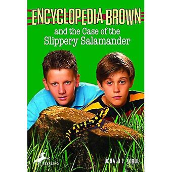 The Case of the Slippery Salamander (Encyclopedia Brown) [Illustrated]