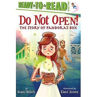 Não abra!: A história da caixa de Pandora (Ready-To-Read: nível 2)