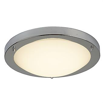 Satyna srebrny mały okrągły LED Flush okucia - reflektor 8702SS