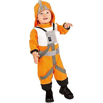 स्टार वार्स एक्स विंग पायलट बच्चा पोशाक