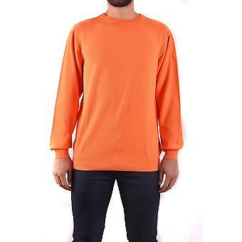 Paul & Shark Ezbc042037 Men's Orange Cotton Sweater