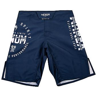 Venum Kids Signature MMA Fight Shorts - Navy Blue