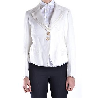 Marithé+françois Girbaud Ezbc263002 Women's White Cotton Blazer