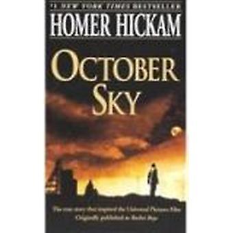 October Sky by Homer H Hickam - 9780780799981 Book