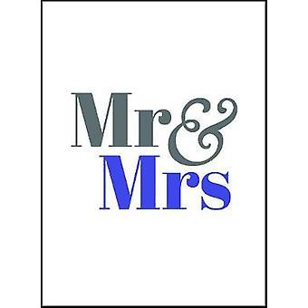 Mr & Mrs - 9781786855107 Book
