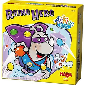 Haba Rhino Hero Action Active Childrens Game