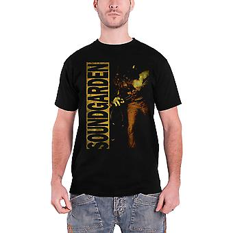 Soundgarden T Shirt Louder Than Love band logo new Official Mens Black