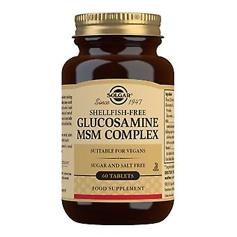 Solgar Glucosamine MSM Complex (Shellfish-Free) Tablets 60 (1314)