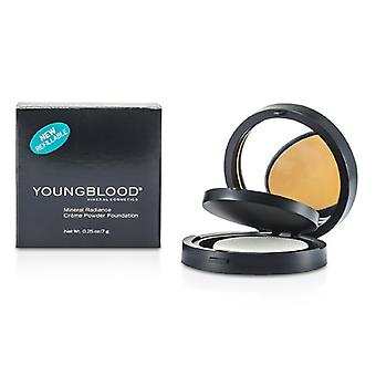 Youngblood Mineral Radiance Creme Powder Foundation - # Toffee 7g/0.25oz