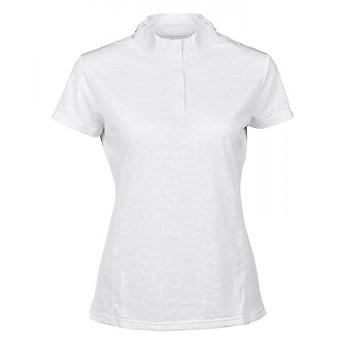 Dublin Cortez Cdt Womens Short Sleeve Competition Top - Blanc