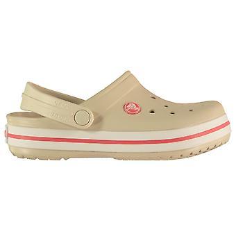 Crocs Kids Croc Band Adjustable Heel Strap Summer Sandals Cloggs