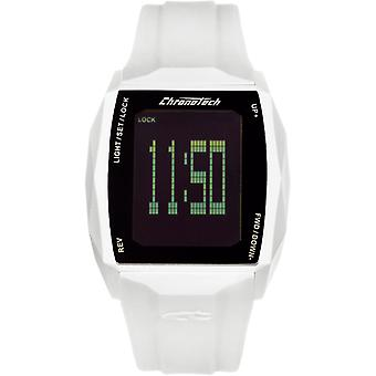 Chronotech Chronotouch Quartz Digital Men's Watch with RW0024 Rubber Bracelet
