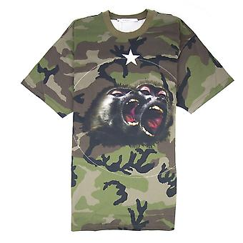 Givenchy Monkey T-shirt Camo