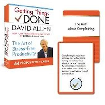 Getting Things Done-64 Productivity Cards 9780399167003