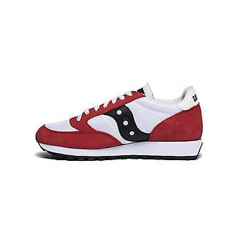 Saucony roșu, alb & negru jazz original Vintage Sneaker