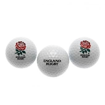 England RFU Golf Balls (Set Of 3)