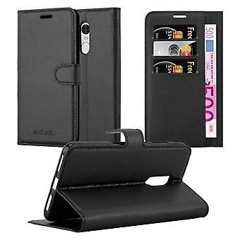 Cadorabo Hülle für Xiaomi RedMi NOTE 4 Case Cover - Handyhülle mit Magnetverschluss, Standfunktion und Kartenfach – Case Cover Schutzhülle Etui Tasche Book Klapp Style