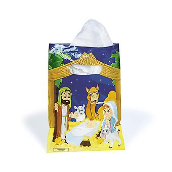 36 Nativity Party Favour Bags - Christian Christmas