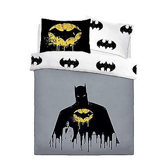 Batman Dark Knight Panel Duvet Set