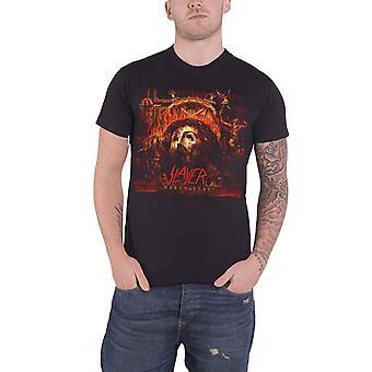 Slayer Mens T Shirt Black Repentless Album cover Band Logo Official
