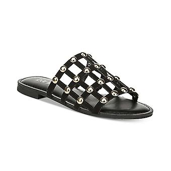 Bar III Womens Pecanna Open Toe Casual Slide Sandals
