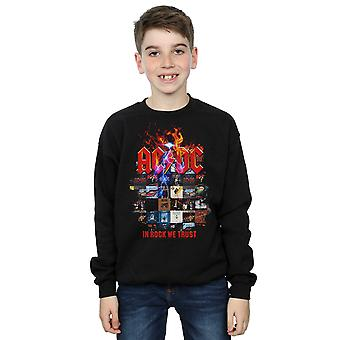 AC/DC Boys In Rock We Trust Album Cover Sweatshirt
