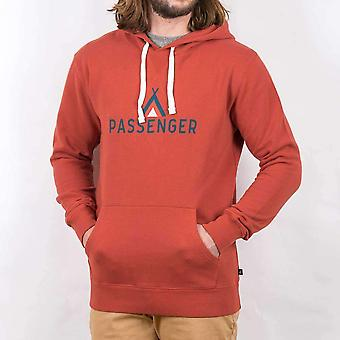 Passenger tipi hoodie red