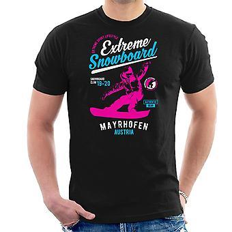 Extreme Snowboard '19 '20 St Mayrhofen Austria Men's T-Shirt